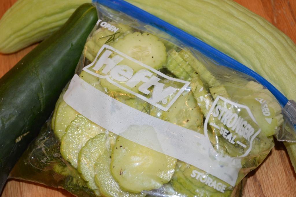 Homemade Danish Cucumbers 1