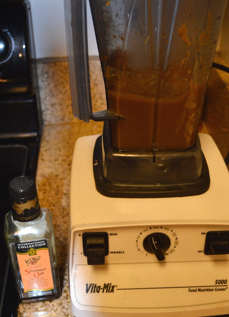 Thai Wrap & Peanut Dipping Sauce 2