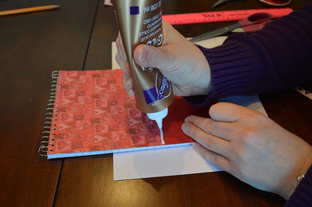 DYI Embellished Notebook 13