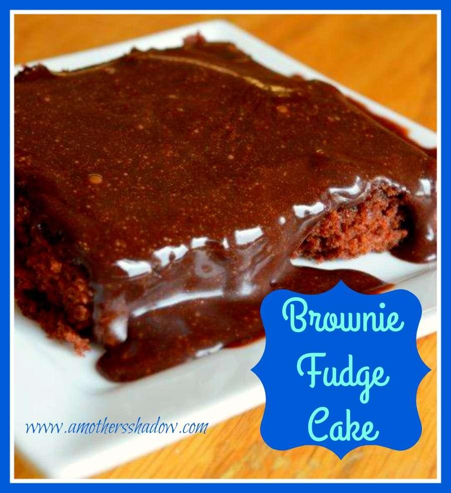 Brownie Fudge Cake