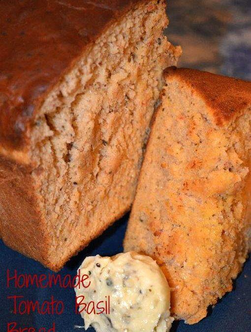 Make delicious tomato basil bread just like panera