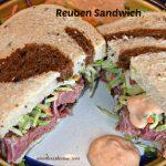 Reuben Sandwich with Slaw & Dressing