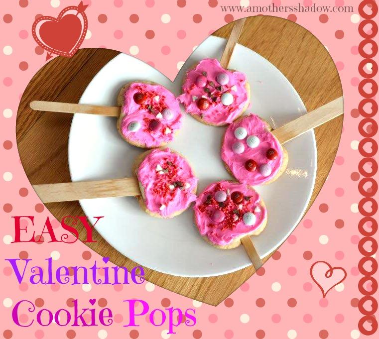 Easy Valentine Cookie Pop