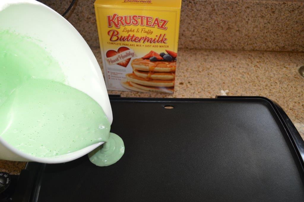St Patrick's Pancakes