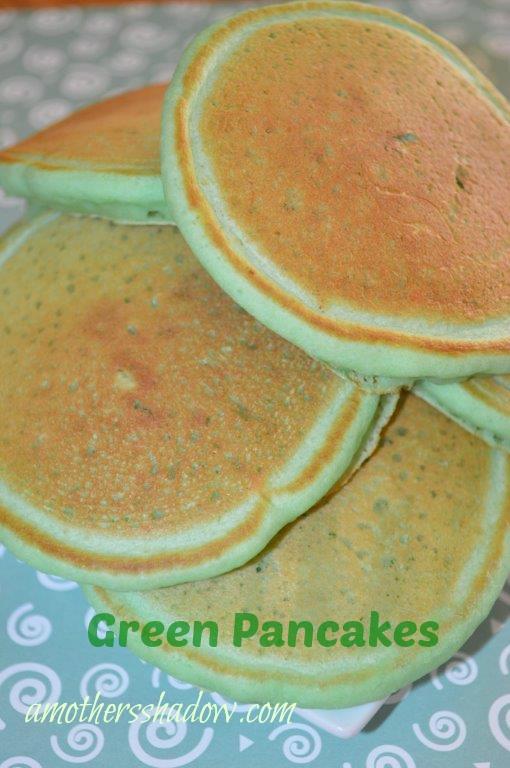 St Patrick's Pancakes 2