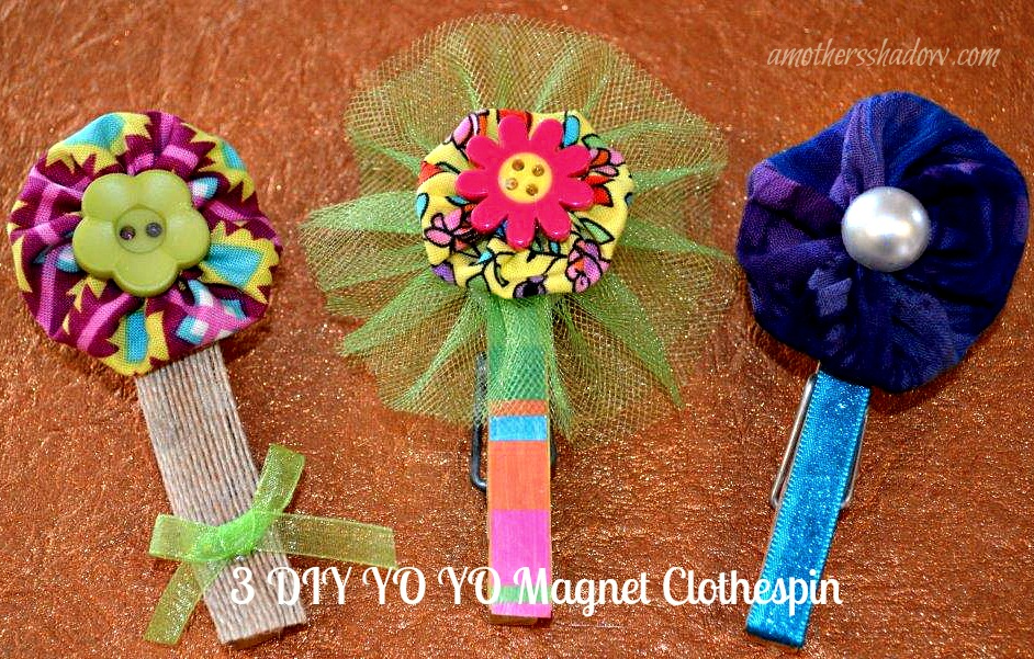 YO YO Clothespin Magnet