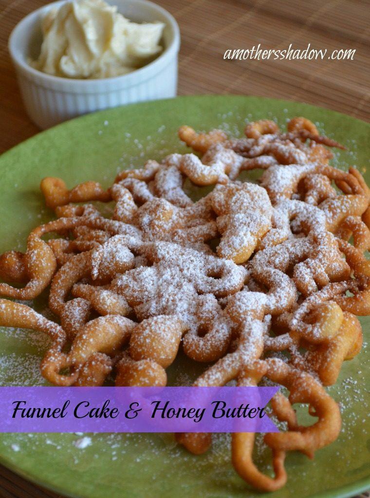 Honey Butter on Funnel Cake