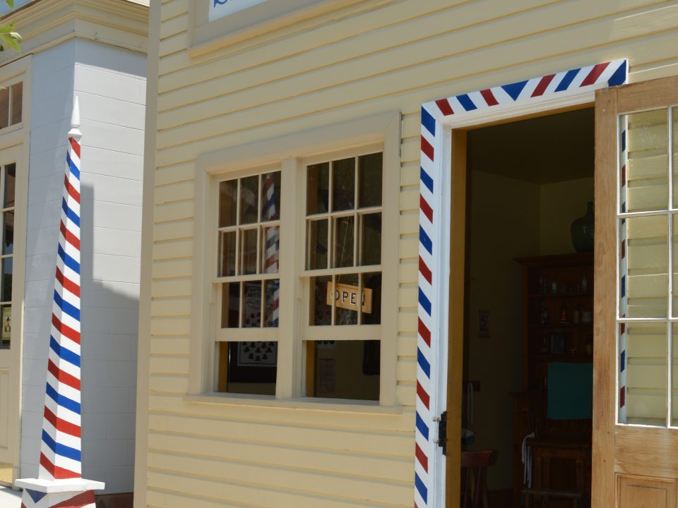 1800s Barbershop