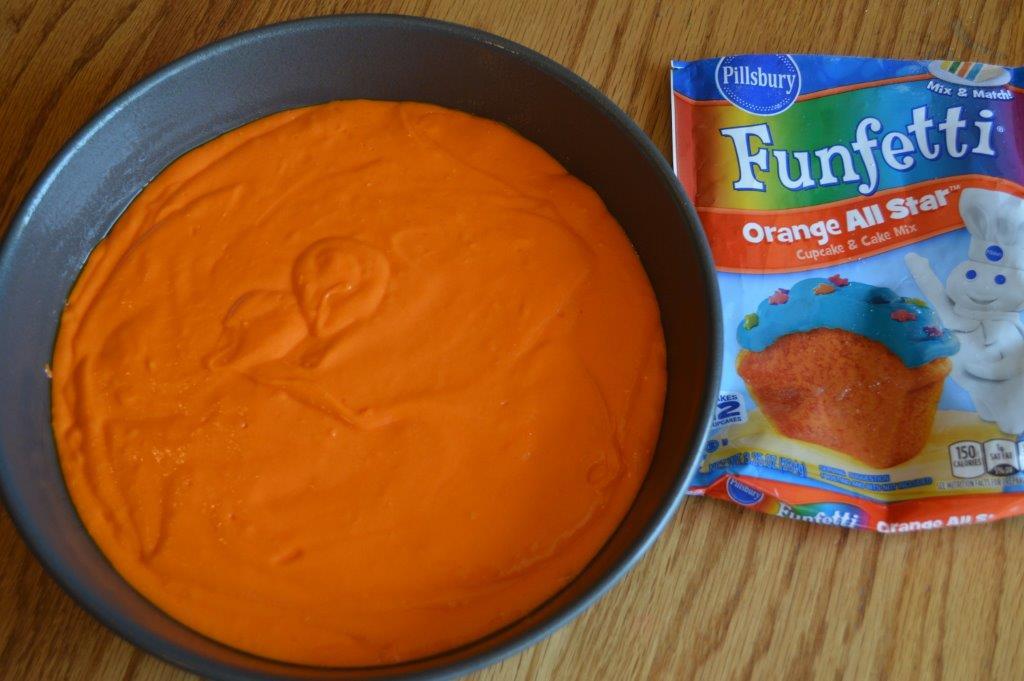 Halloween Layered Cake 1