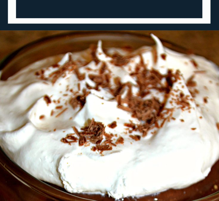 Chocolate Divine Dessert