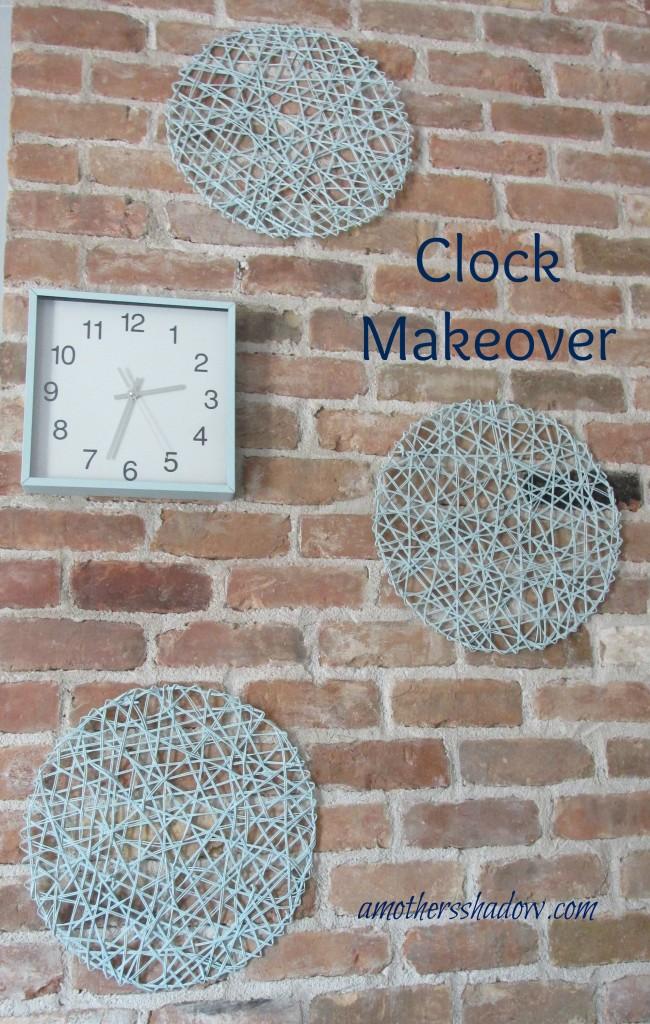 DIY Clock Makeover