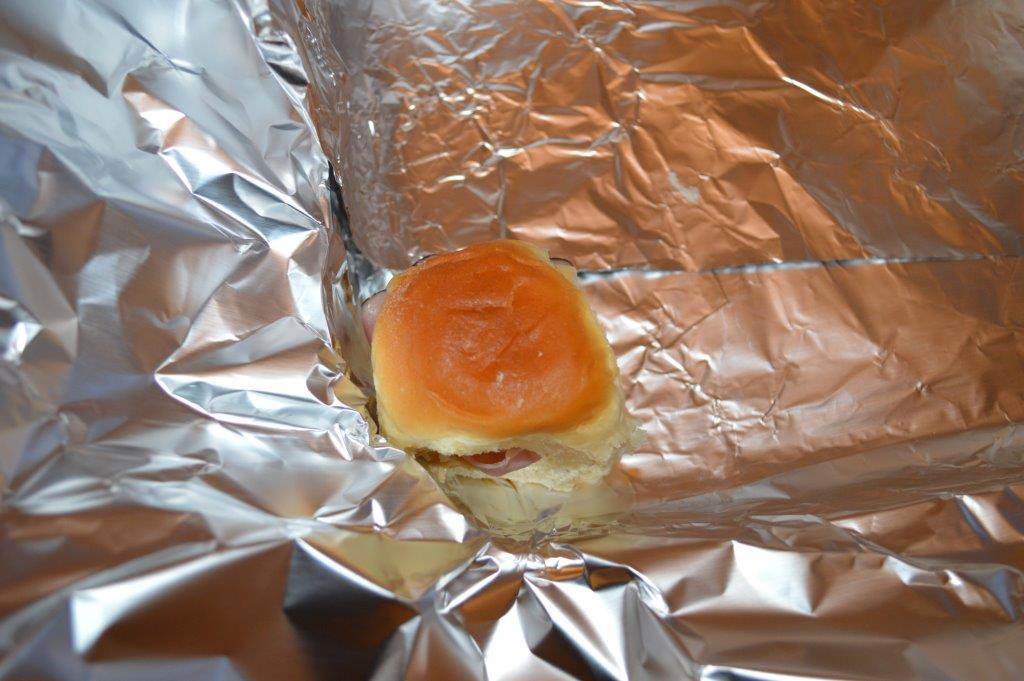 Warm Cheese & Ham Sliders 5