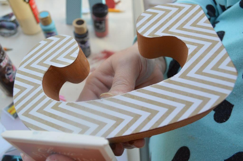 DIY Wooden Letter 19