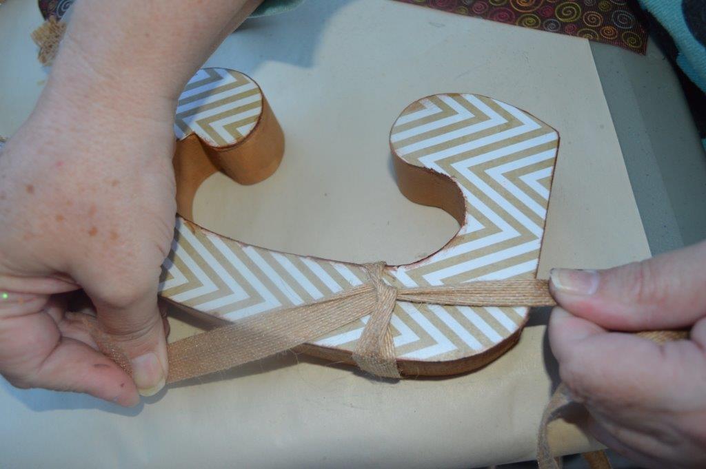 DIY Wooden Letter 21