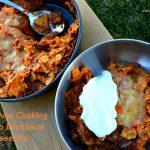 Dutch Oven Cooking – Dorito Enchilada Casserole