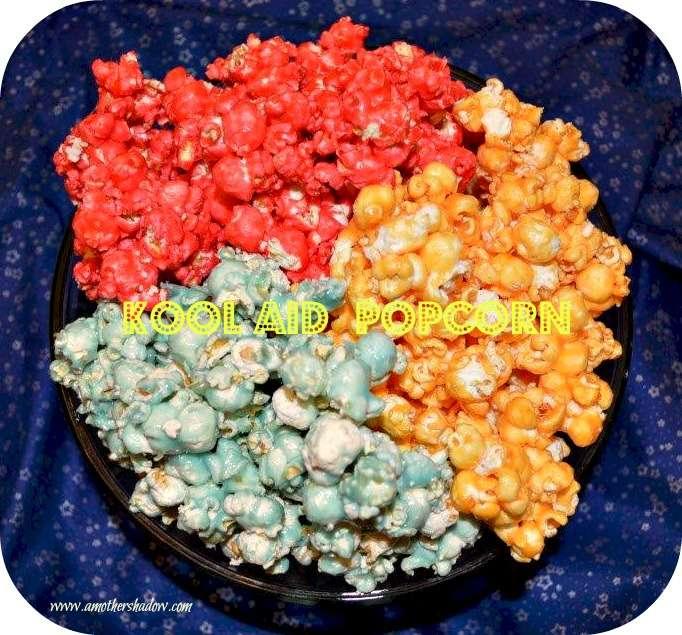 Kool-Aid Candied Popcorn