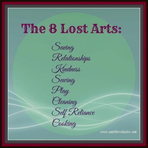 8 Lost Arts 1