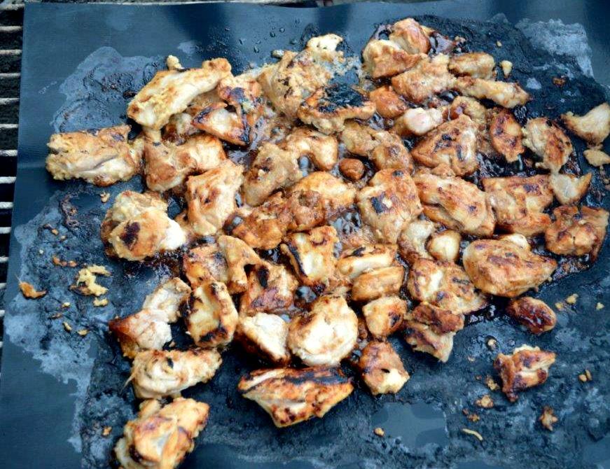 BBQ Thai Chicken Satay Bites