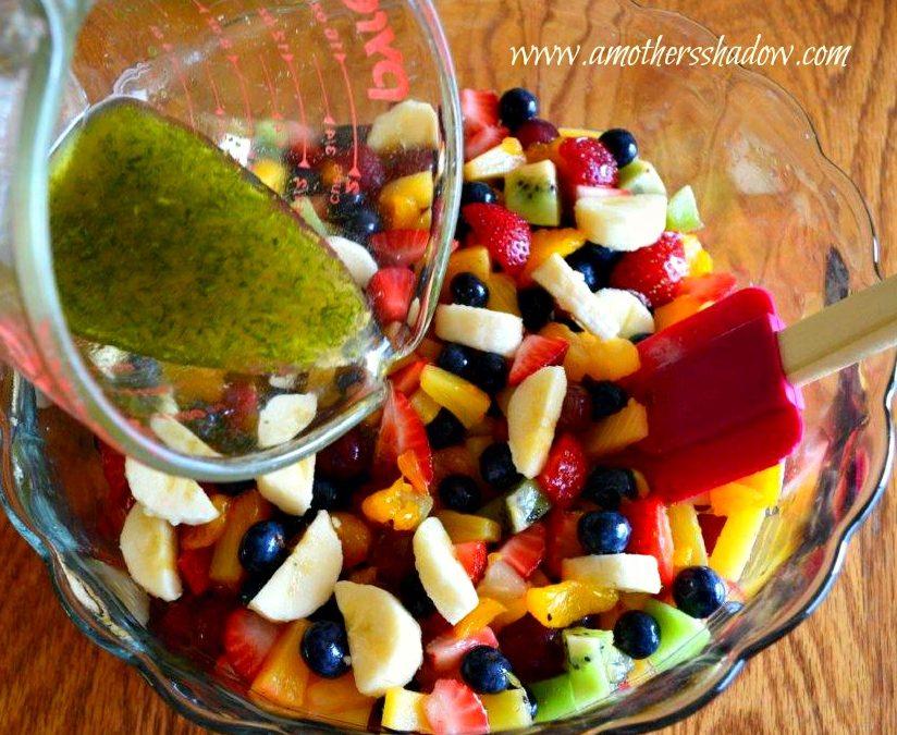 Citrus Glazed Fruit Salad