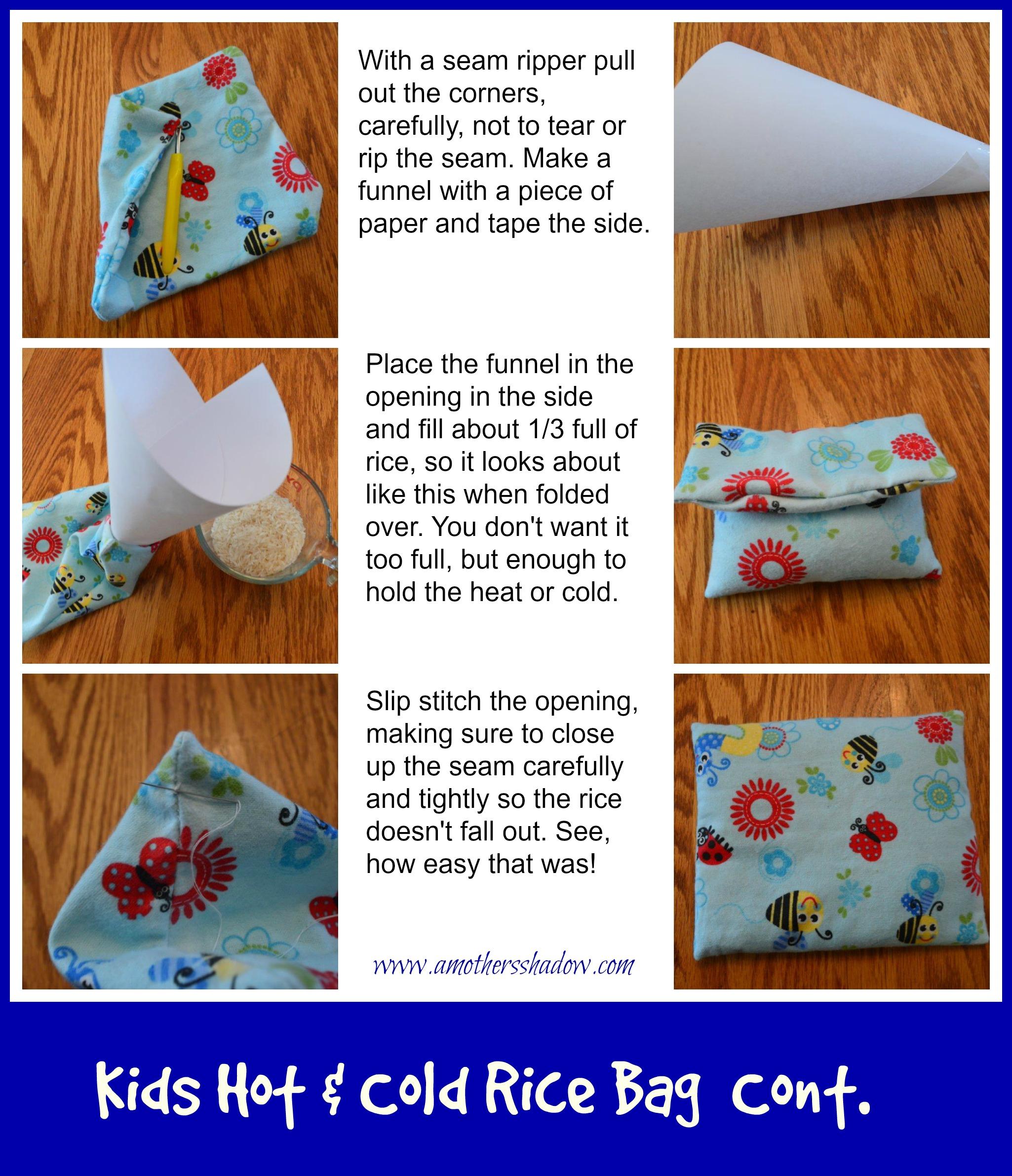 Kids Hot & Cold Rice Bag 2