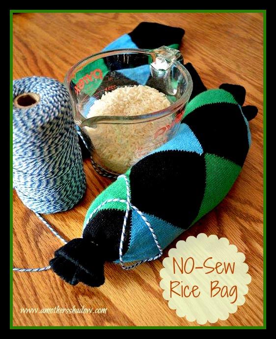 NO-Sew Rice Bag