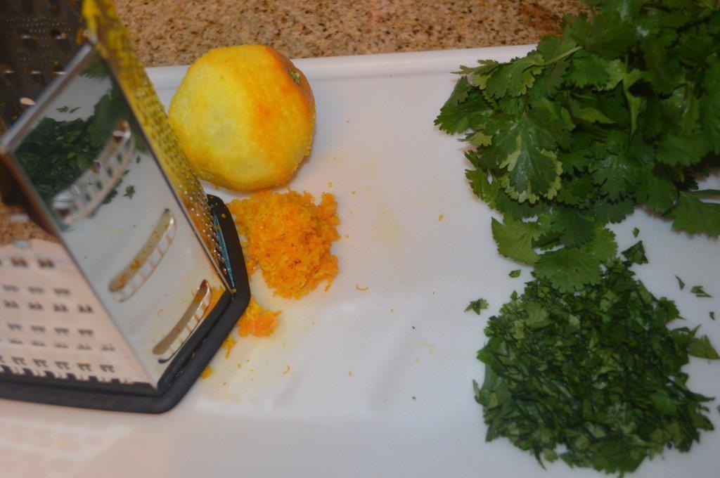 Sassy Grilled Orange Shrimp