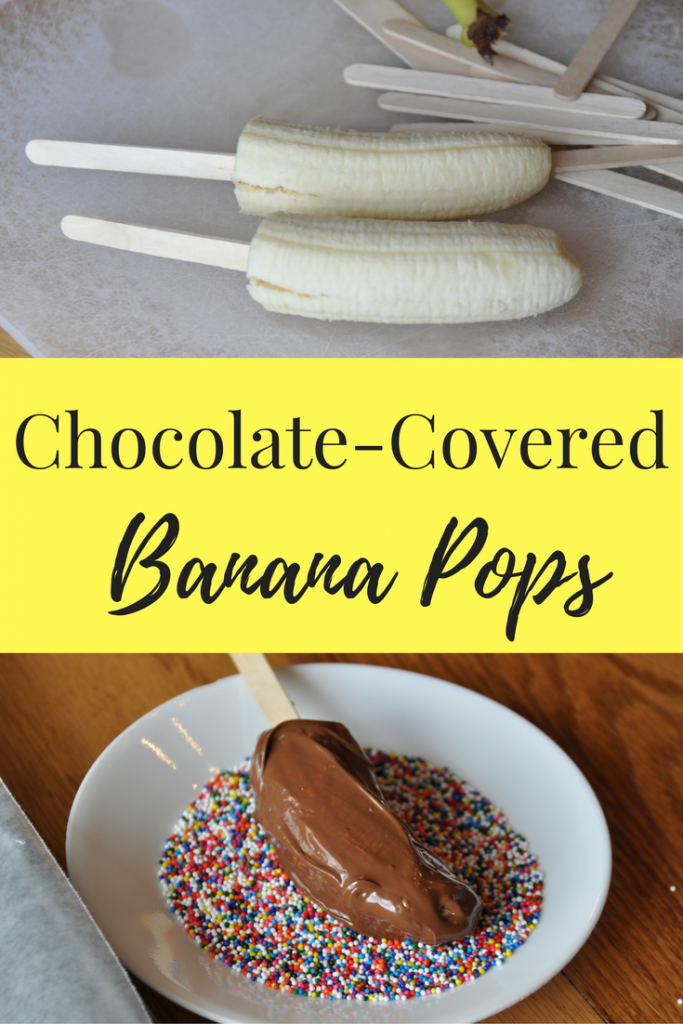 Looks delectable! Chocolate Dipped Bananas Recipe
