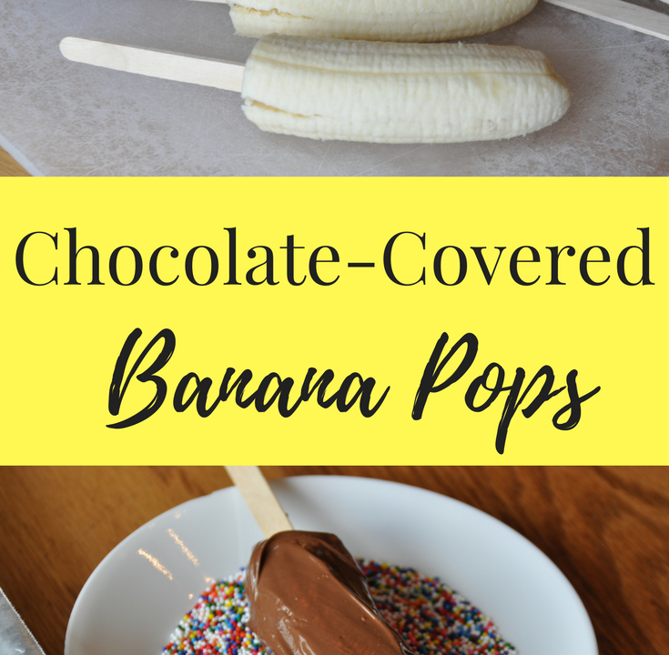 Banana's Dipped in Chocolate