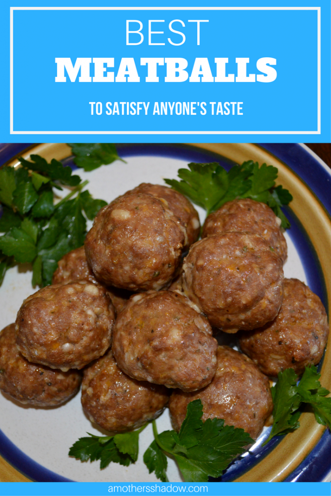 A plate of homemade meatballs that are baked in the oven. A classic Italian part of any meal, but can be used for so many dishes.
