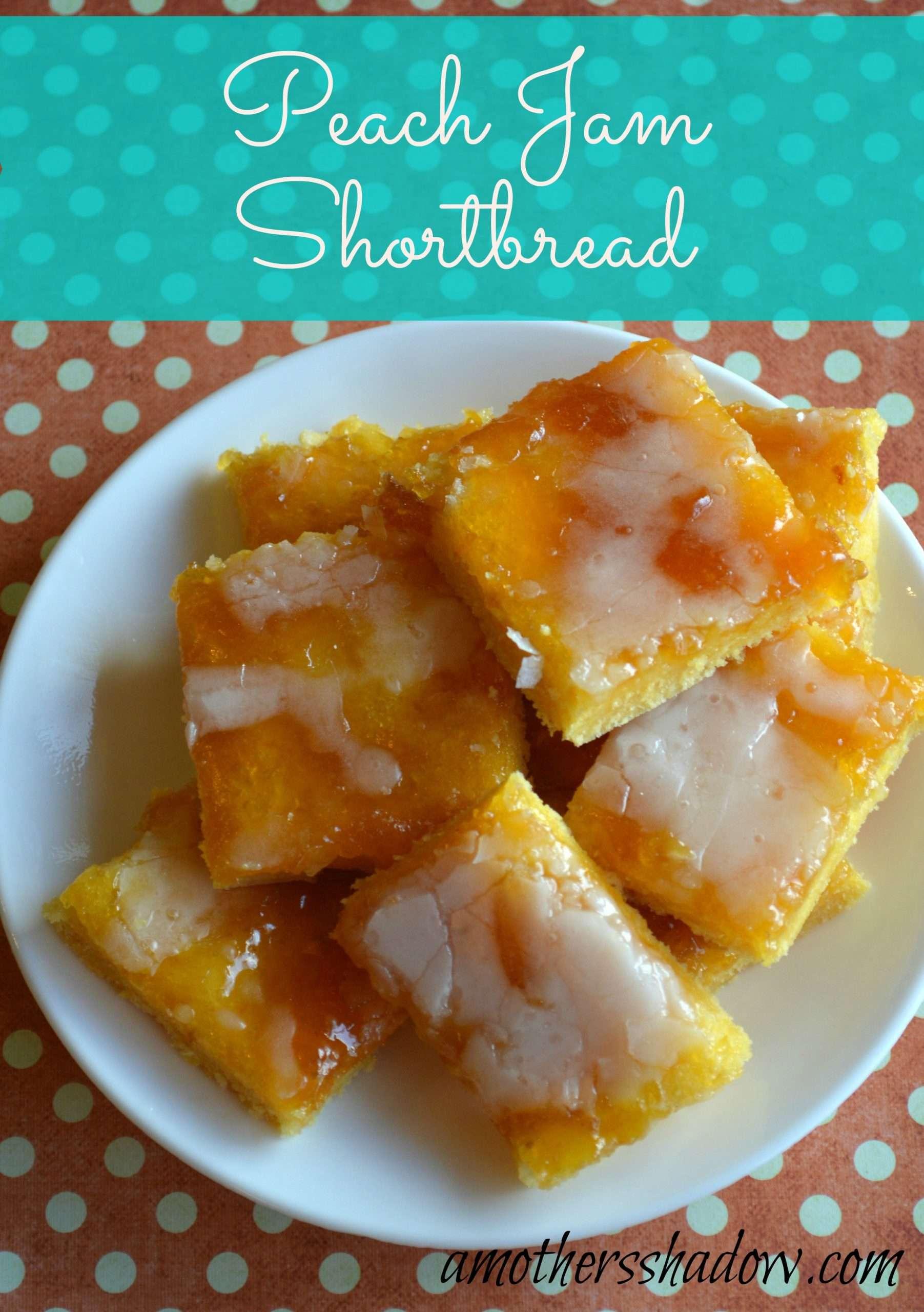 Jam Shortbread Recipe