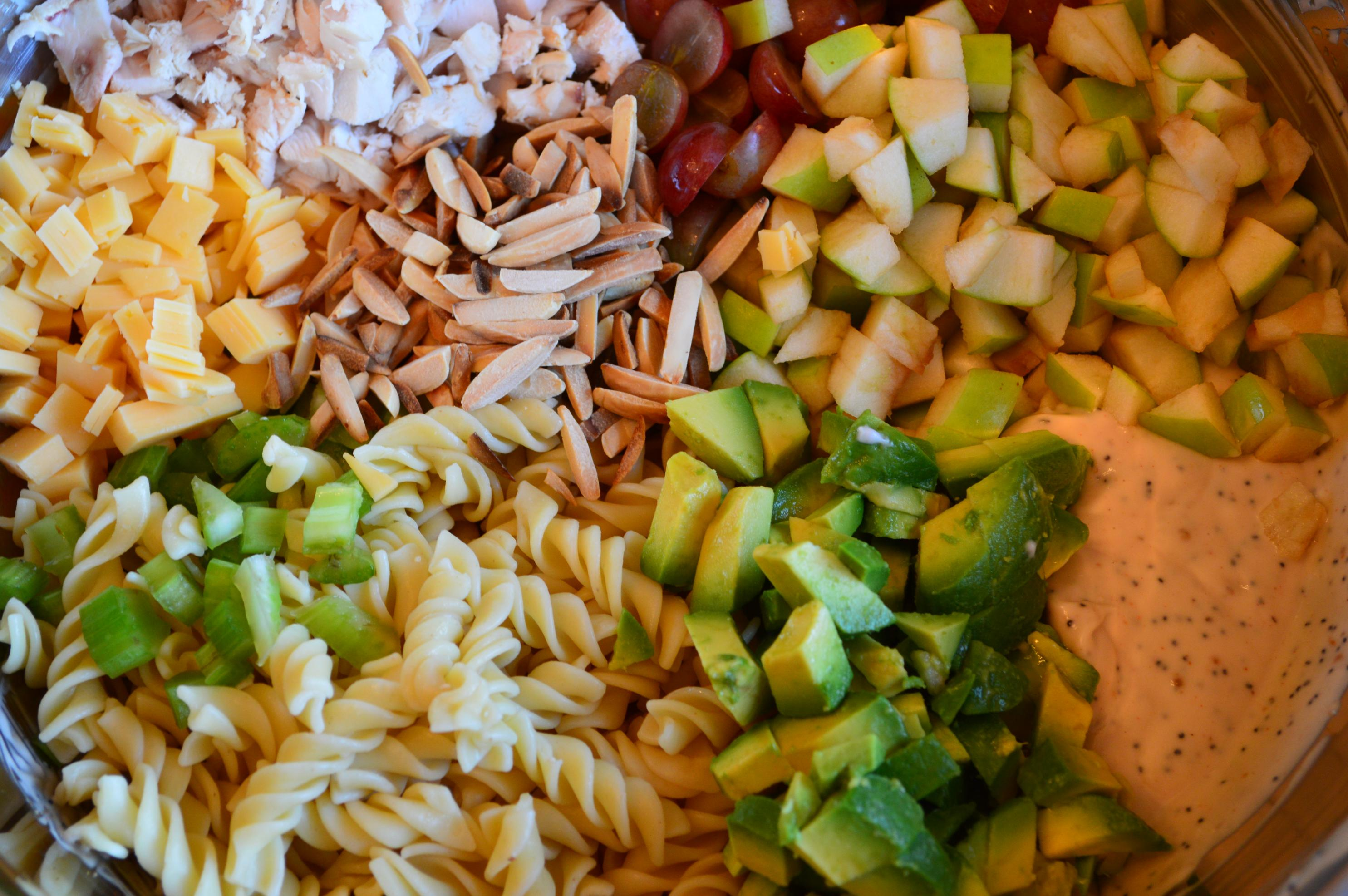 Carrie's Chicken Pasta Salad