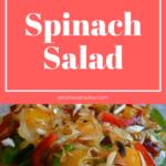 Dinner Spinach Salad