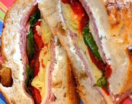 Brick Sandwich 1