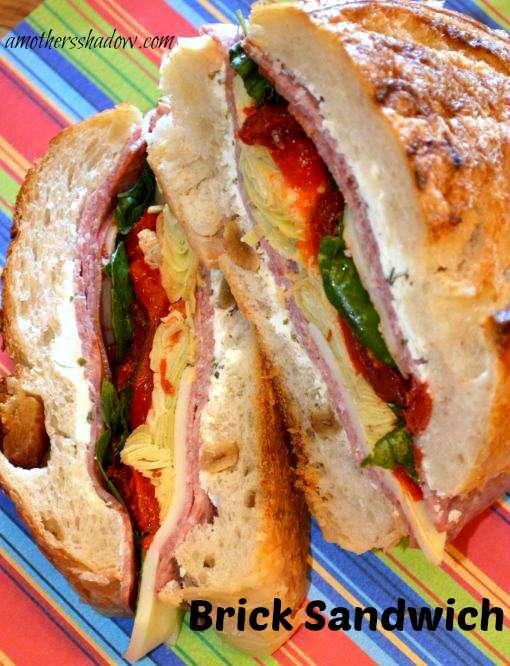 Best Ever Brick Sandwich