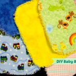 EASY DIY Baby Burp Pad/Cloth