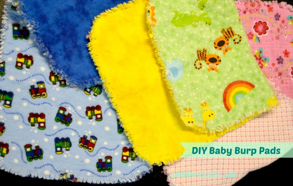 EASY DIY Baby Burp Pad/Cloth