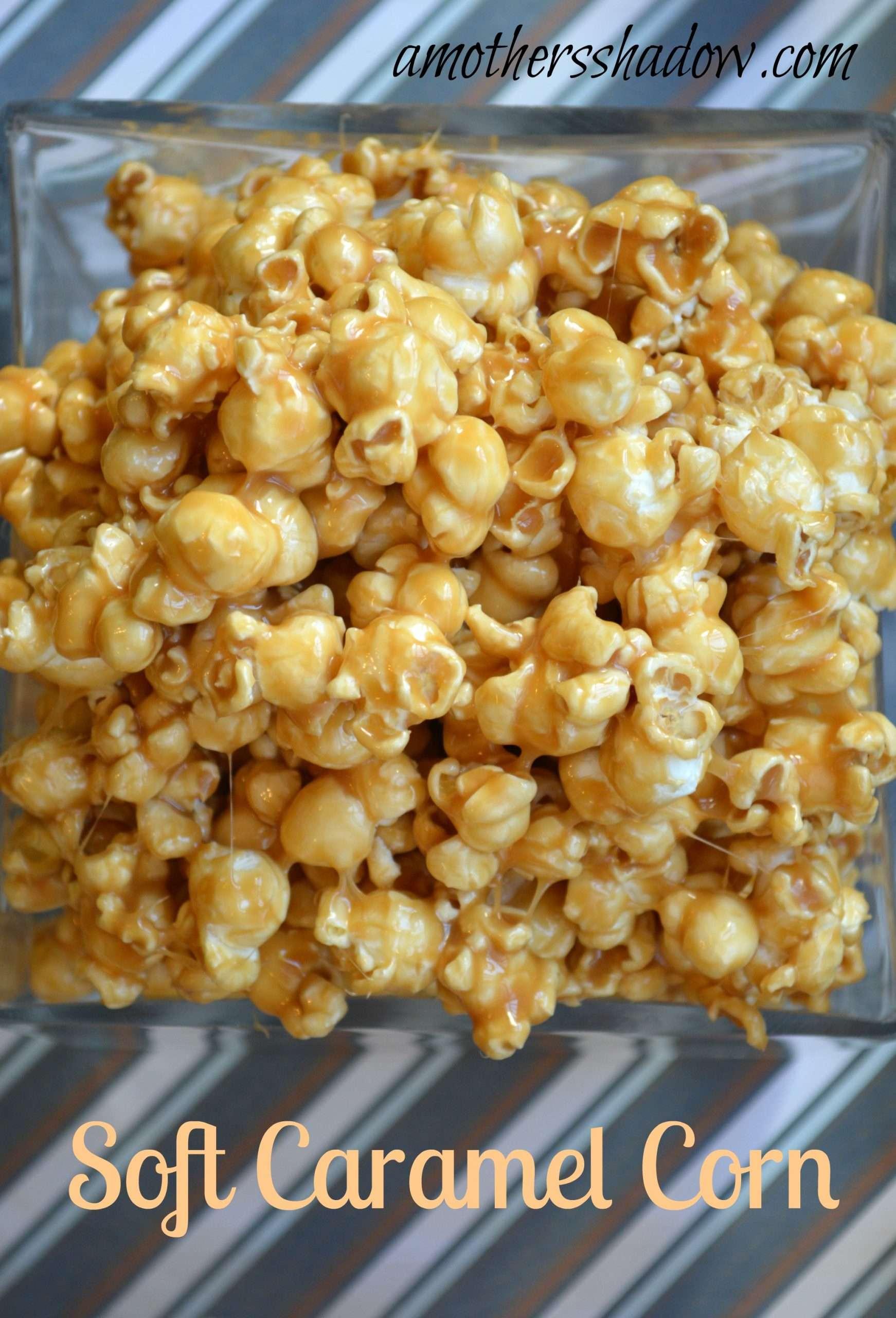 Soft and Creamy Caramel Corn