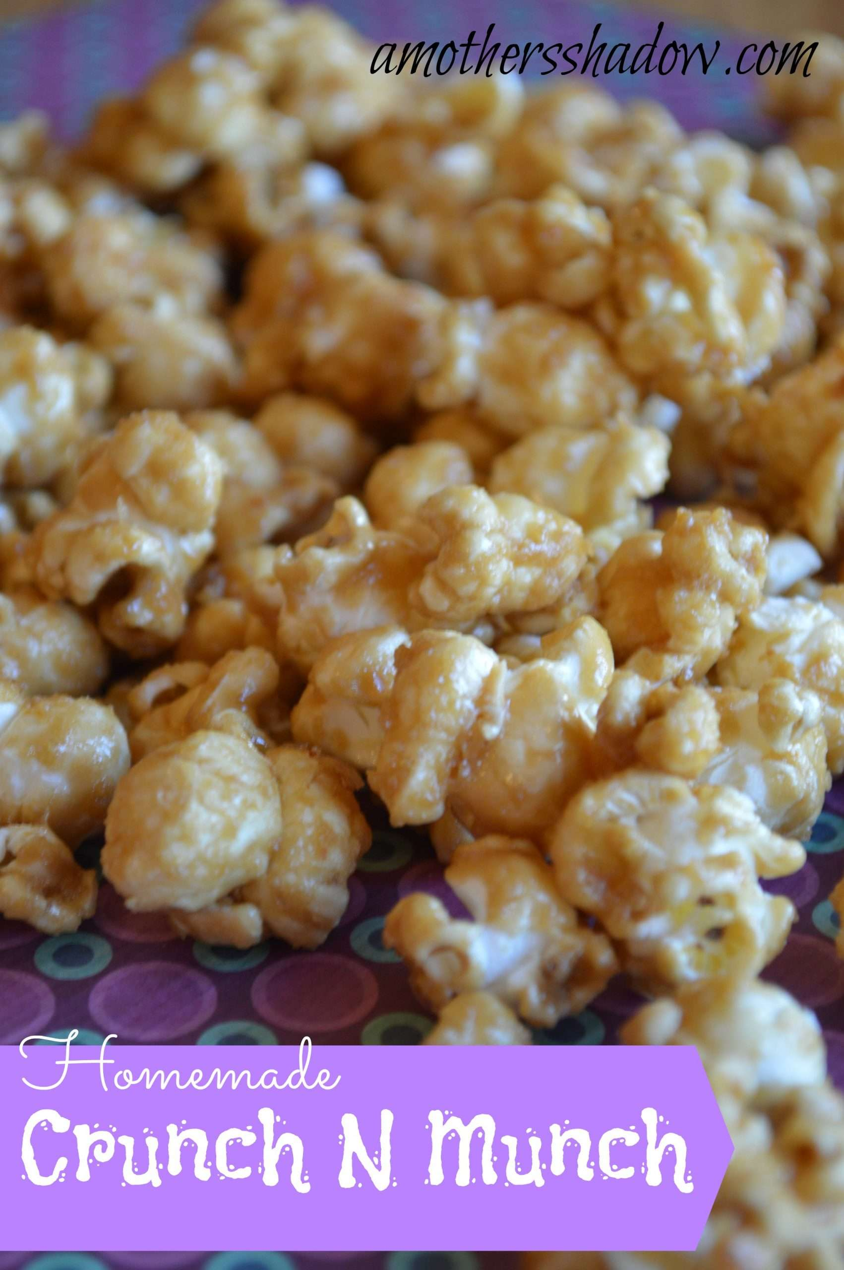 Copycat Crunch and Munch Popcorn
