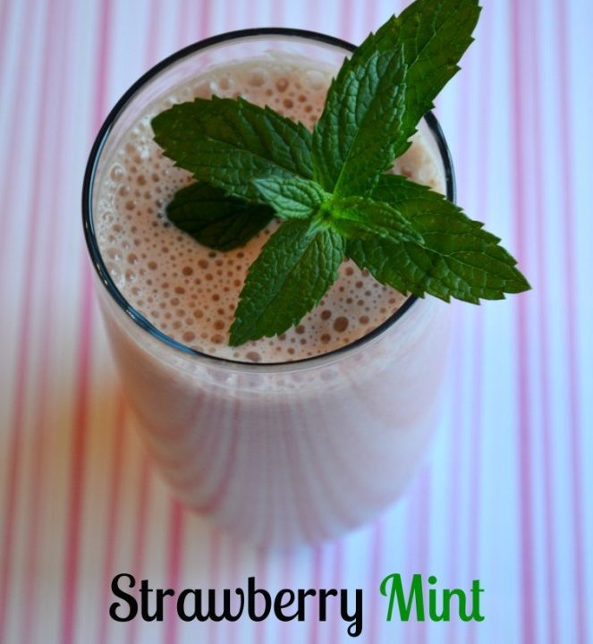 Mint Strawberry Smoothie