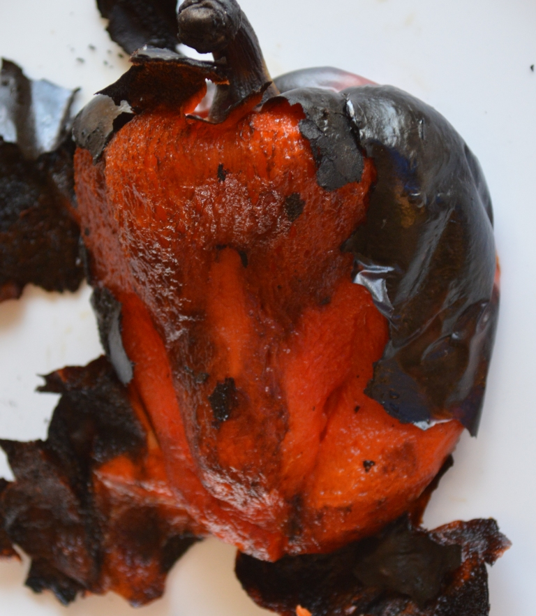 How To Roast a Pepper 3