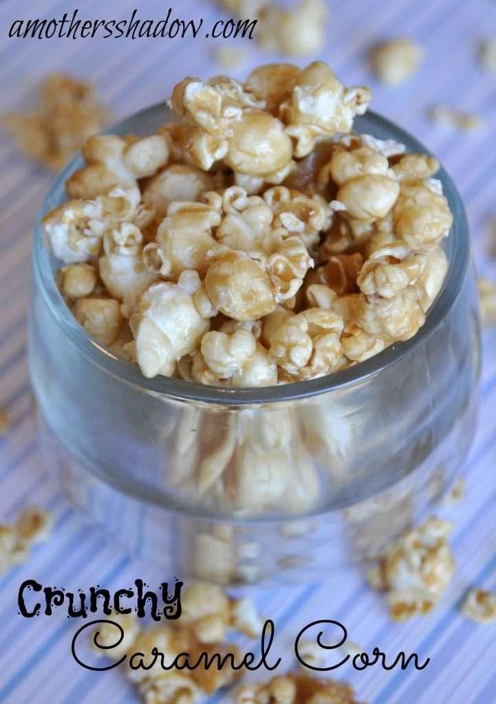 Crisp and Crunchy Caramel Popcorn