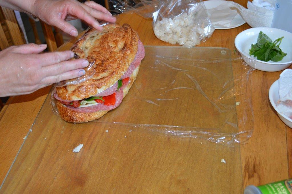 Brick Sandwich 13