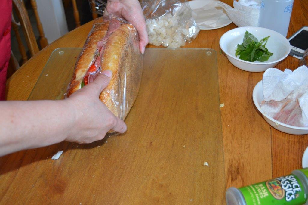 Brick Sandwich 14