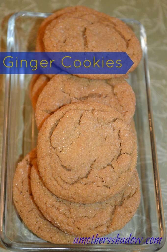 Soft and Delicious Ginger Cookies