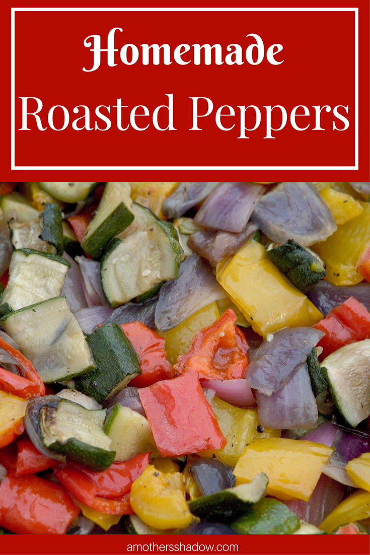 Easy Homemade Roasted Peppers