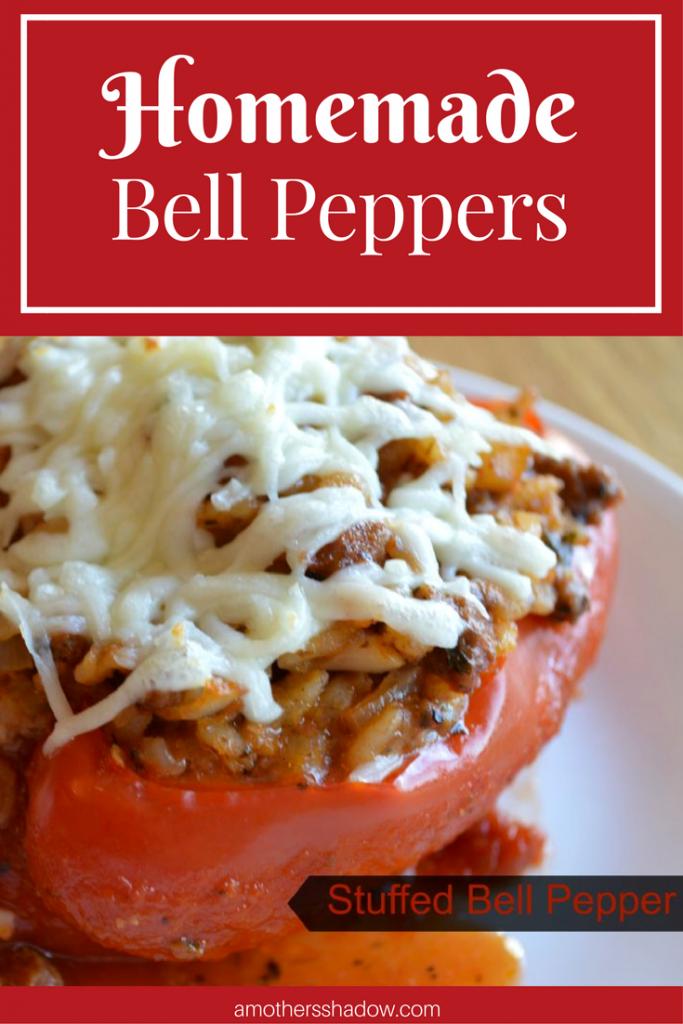 Homemade Stuffed Bell Peppers