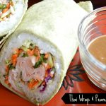 Thai Wrap & Peanut Dipping Sauce