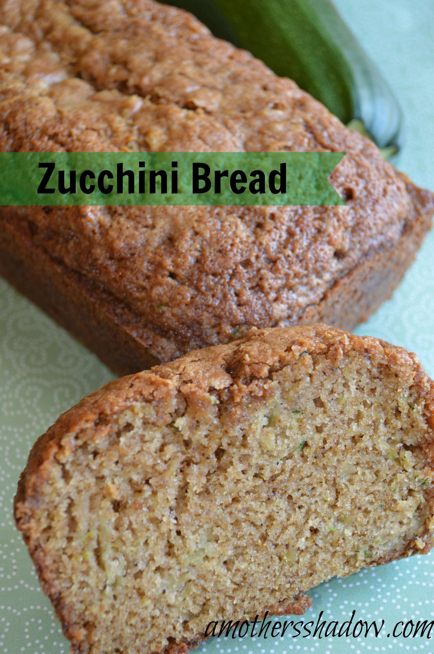 AMAZING flavorful and Tender Zucchini Bread