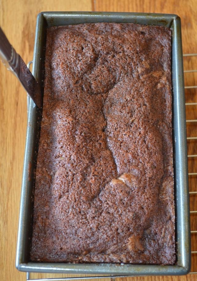 Chocolate Zucchini Bread 3