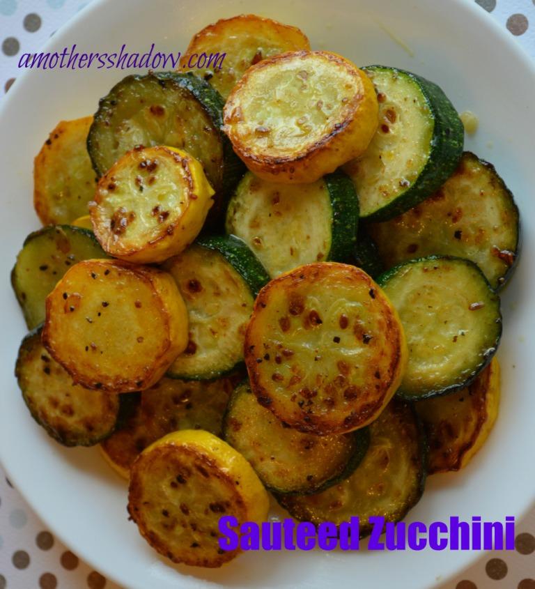 Perfectly Sauteed Zucchini